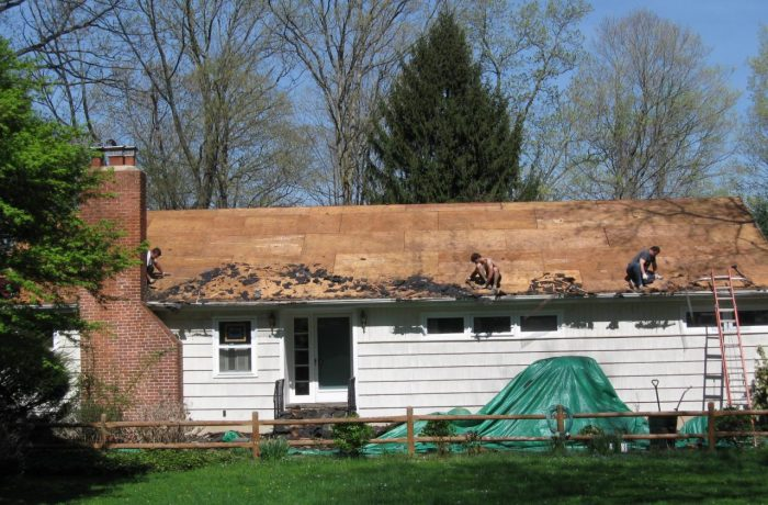 Composite Asphalt Shingle Roof Replacement Project