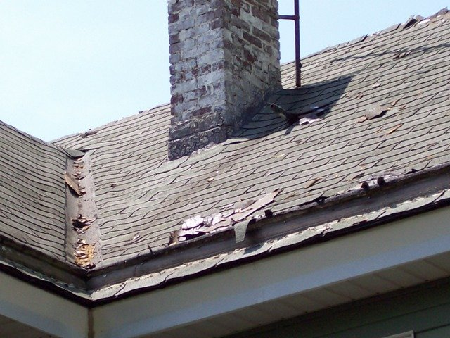 Roof Replacement – before