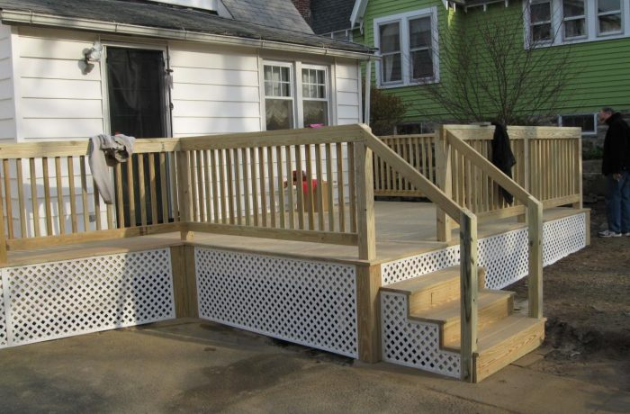 Deck Project – after