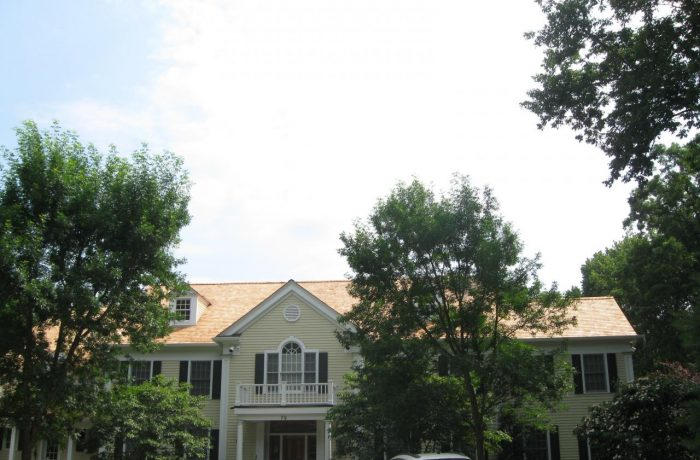 Cedar Roof Replacement – after