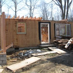 Demolition and Framing Project – during